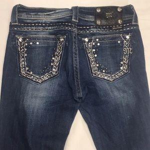 Miss Me JE5408B4L boot jeans sz 26